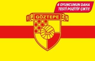Göztepe'de pozitif çıkan futbolcu sayısı...