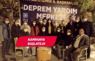 İYİ Parti İzmir'den deprem sonrası 'kriz...