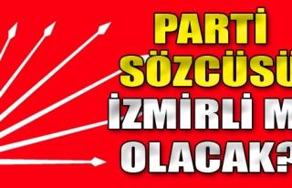 Parti Sözcüsü İzmirli mi Olacak?