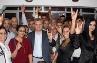 MHP'li Şahin Partililerle Buluştu