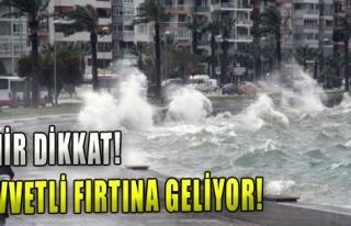 Dikkat: Kuvvetli Fırtına Geliyor!