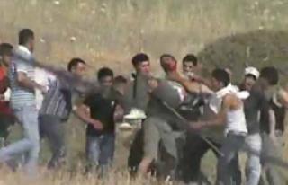 İsrail Sivil Araplara Kurşun Yağdırdı!