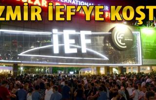 İzmir İEF'ye Koştu
