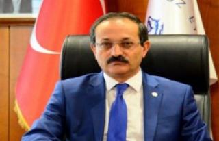 İZKA Kalkınma Kurulu Başkanı Rektör Vekili Çelik...