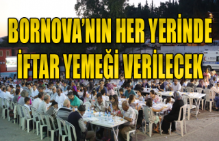 Bornova'da Ramazan Hazırlıkları Tamam