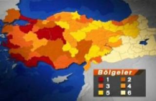 Türkiye Teşvik Haritası Açıklandı