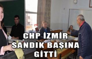 CHP İzmir Sandık Başına Gitti