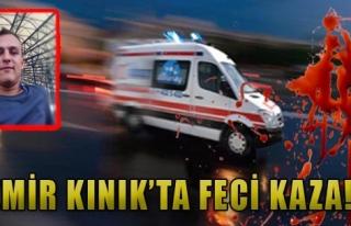 Kınık'ta Takla Atan Otomobilin Sürücüsü Öldü