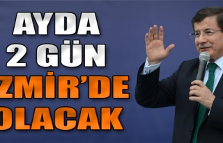 Ayda 2 Gün İzmir'e Gelecek
