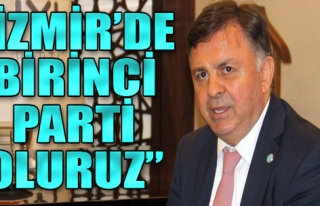 'Seçime beş kala İzmir'de birinci parti oluruz'