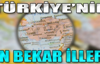 Türkiye'nin En Bekar İlleri