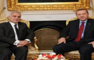 Başbakan, Haşimi'yle Görüştü