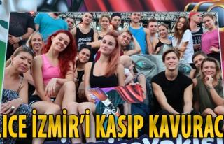 Alice İzmir'i Kasıp Kavuracak
