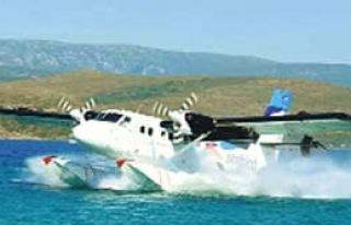 Ankara'ya 'Deniz Uçağı'