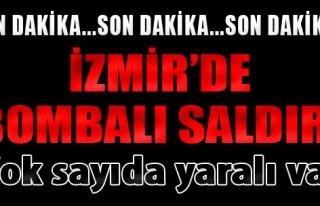 İzmir'de Cezaevi Servisinin Geçişi Sırasında...