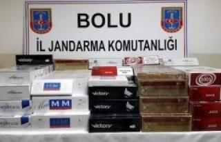 5 Bin 100 Paket Kaçak Sigara