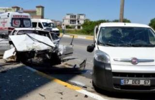 Antalya'da Kaza: 1 Ölü 9 Yaralı