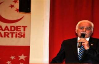SP Genel Başkanı Kaza Yaptı