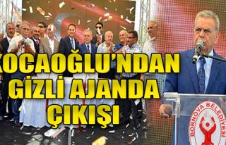 Kocaoğlu, Pınarbaşı'nda Konuştu