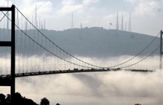 Boğaz Köprüsü'nde Sis Engeli