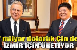 İzmir'in Vagonları Çin'de Üretiliyor