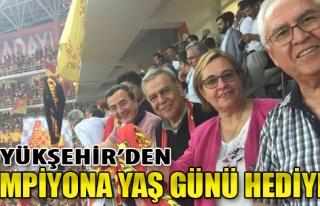 Büyükşehir'den Şampiyona Yaş Günü Hediyesi