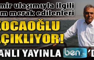 Başkan Kocaoğlu İzmir Ulaşımını Masaya Yatırıyor