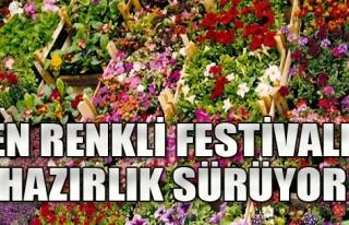 En Renkli Festivale Hazırlık