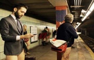 Çıplak Metro Eylemi