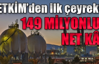 Petkim'den İlk Çeyrekte 149 Milyon TL Net Kar