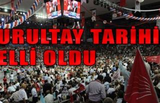 CHP'de Kurultay Tarihi Netleşti