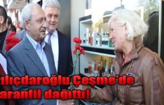 Kılıçdaroğlu, Çeşme Çarşısında Kadınlara...