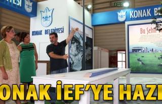 Konak Belediyesi İEF'ye Hazır