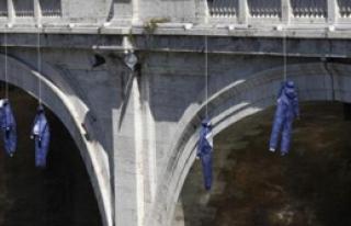 İtalya'da Ekonomik Kriz Protestosu