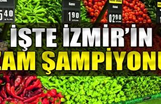 İşte İzmir'in Zam Şampiyonu