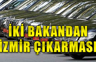İki Bakan İzmir'de Programlara Katıldı