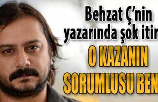 Behzat Ç'nin Yazarı Emrah Serbes'ten Son Dakika...