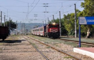 Tren İstasyonundaki Yangında Zarar 1 Milyon Lira