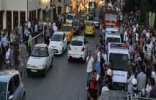 Bursa'da 2 Saatlik İntihar Şov