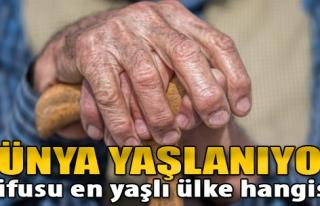 Dünya Nüfusu Yaşlanıyor: Nüfusu En Yaşlı Ülke...
