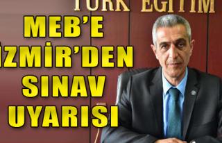 MEB'e İzmir'den Rapor