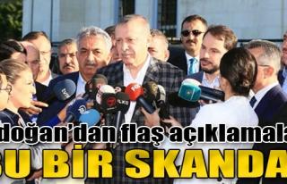 Erdoğan'dan Bayram Namazı Sonrası Flaş Açıklamalar