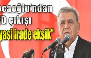 Kocaoğlu Ankara'ya Seslendi