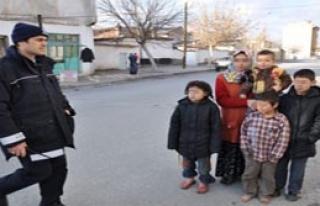 'Anneler Günü'nde Polise Sığındı