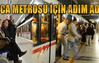 Buca Metrosu İçin Adım Adım