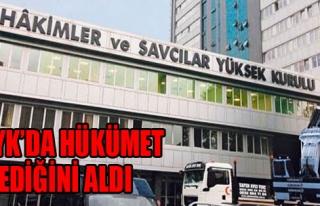 HSYK'ya Hükümet Damgası