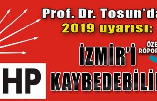 'CHP İzmir'i Kaybedebilir'