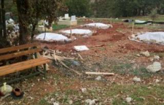 '10 PKK'lının Gizlice Gömüldüğü Tespit Edildi'