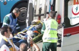 D-100'de Zincirleme Kaza: 7 Yaralı