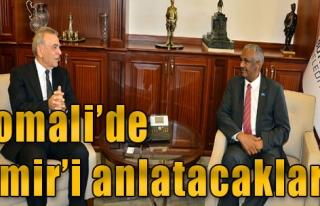 Somali'den Kocaoğlu'na Ziyaret